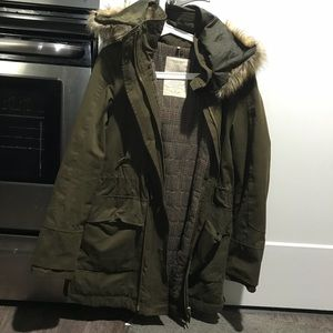 Zara Khaki WinterJacket M